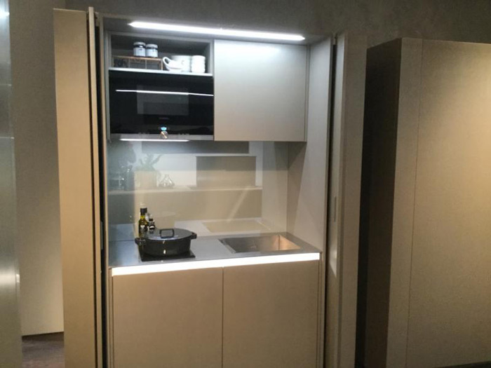 Cucina a scomparsa - Torchetti Casa